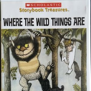 Where the Wild Things Are read along book (3/$20)